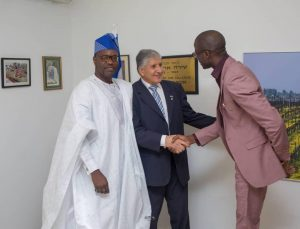 Courtesy Visit to Ambassador of Israel to Nigeria, His Excellency, Ambassador Shimon Ben-Shoshan