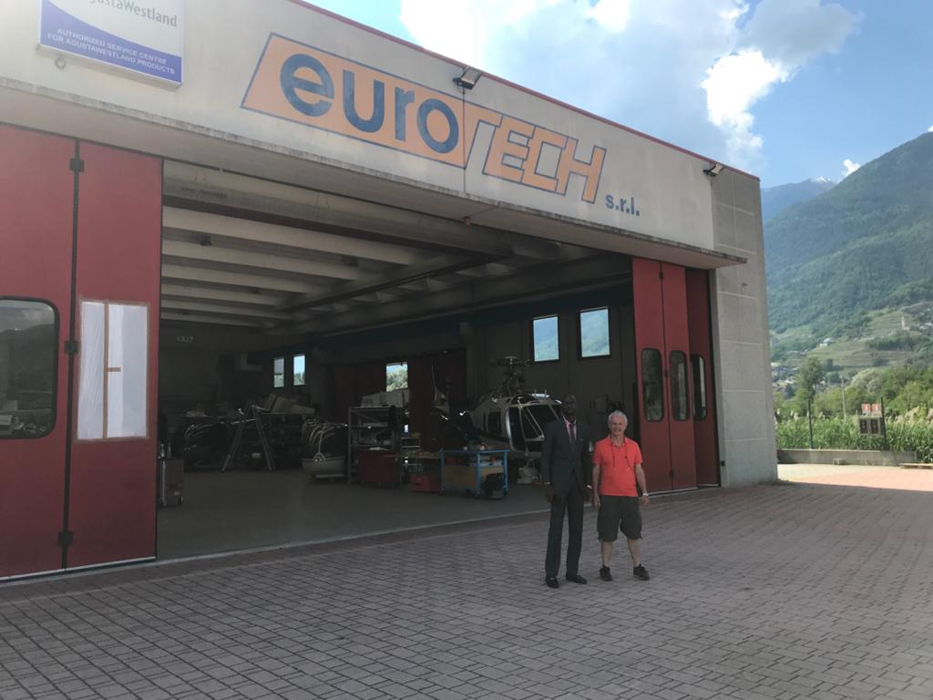 Business Visitation and Discussion to Eurotech Italy